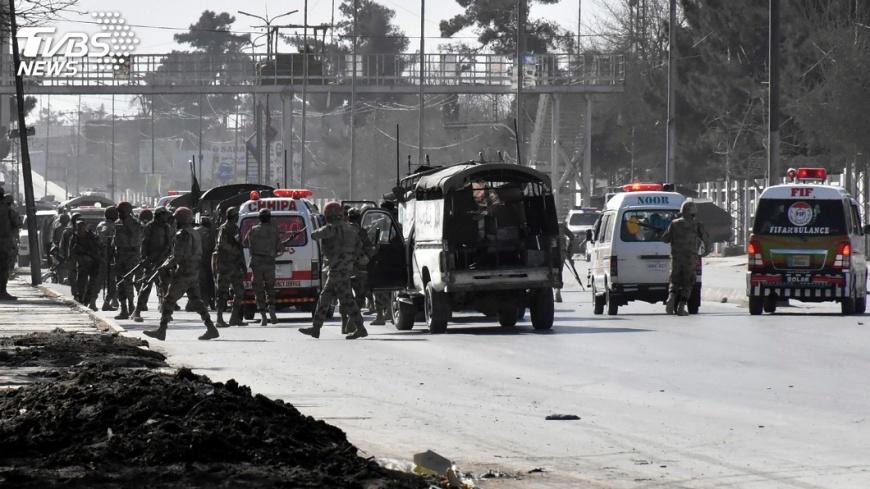 圖/達志影像路透社 自殺炸彈客攻擊巴基斯坦教堂 5死16傷