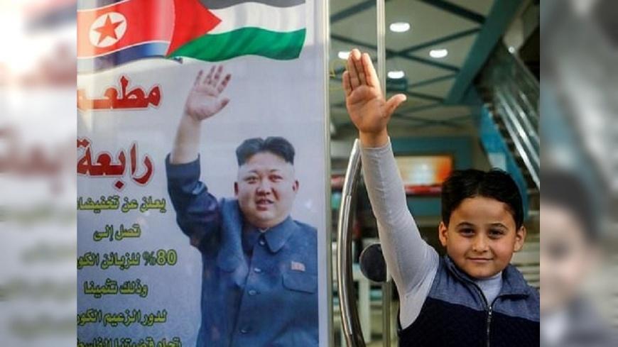 圖/翻攝自《每日郵報》 「金正恩是英雄!」 巴勒斯坦餐廳祭2折優惠給北韓人