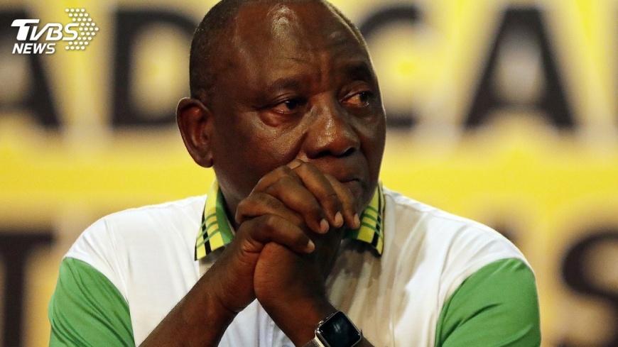 圖/達志影像美聯社 南非副總統拉瑪佛沙當選執政黨新主席