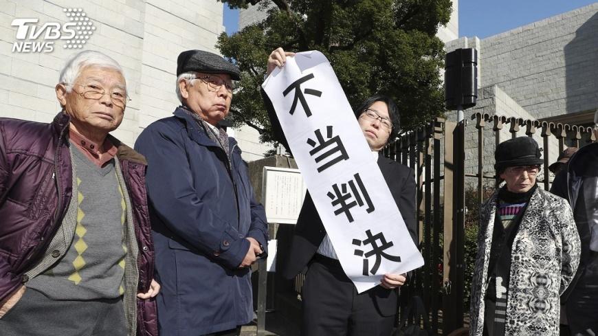 圖/達志影像美聯社 長崎原爆生還者爭取官方承認 確定敗訴