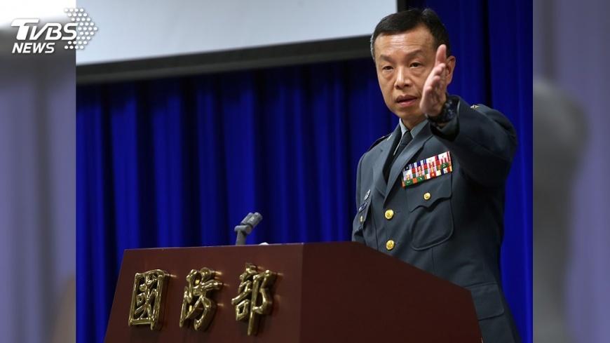 圖/中央社 國防部回應共機頻擾台 「戰機該掛彈就會掛彈」