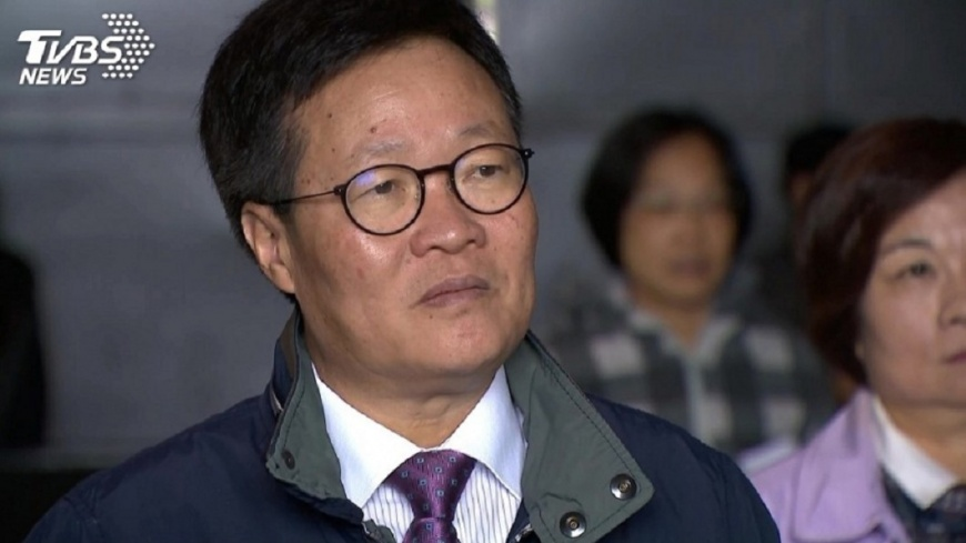 圖/TVBS 陳金德不登記黨內初選 強調團結才有機會