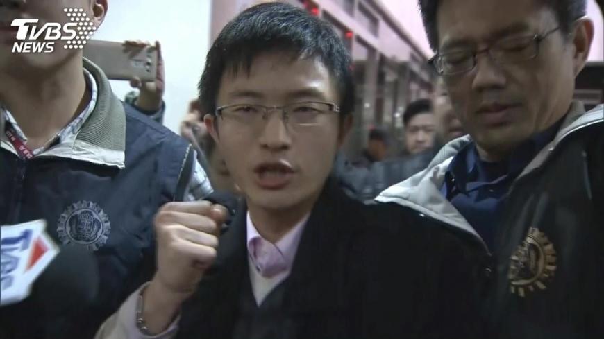 圖/TVBS 拘提王炳忠 林明正:謝總統讓他們當政治犯