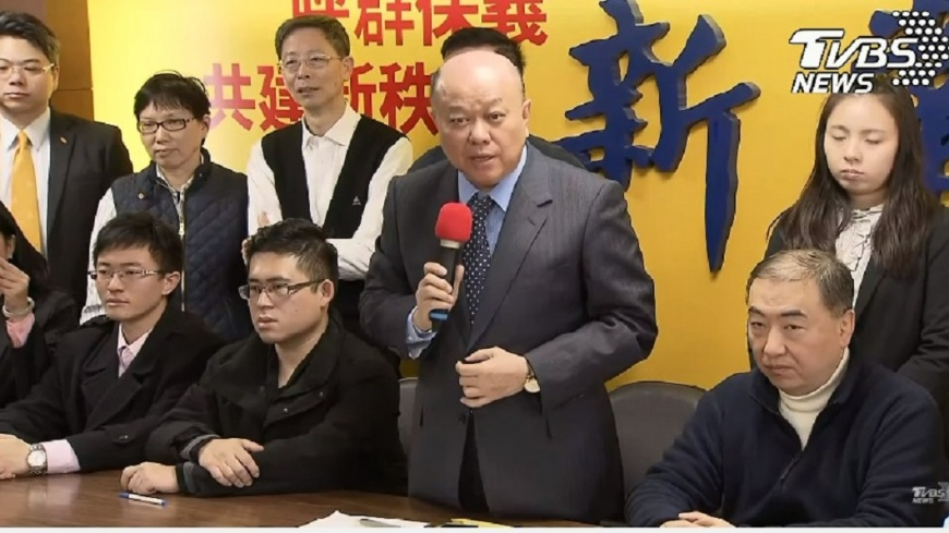 圖/TVBS 痛批「綠色恐怖」 新黨遭拘青年露面喊冤