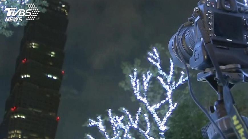 圖/TVBS資料畫面 跨年夜晚7時起 信義計畫區3階段交管