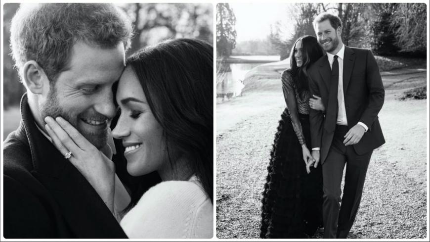 超閃!哈利王子訂婚照曝光 由黛妃攝影師徒弟拍攝