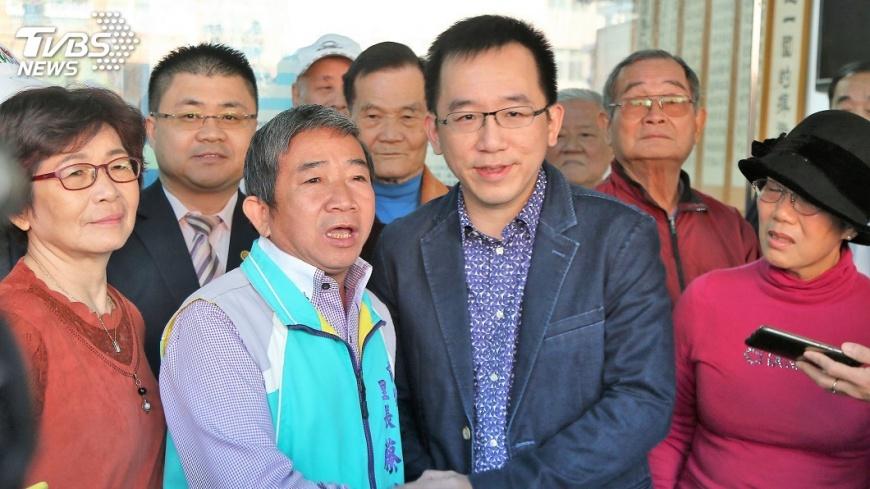 圖/中央社 宣布參選市議員 陳致中:做好做滿