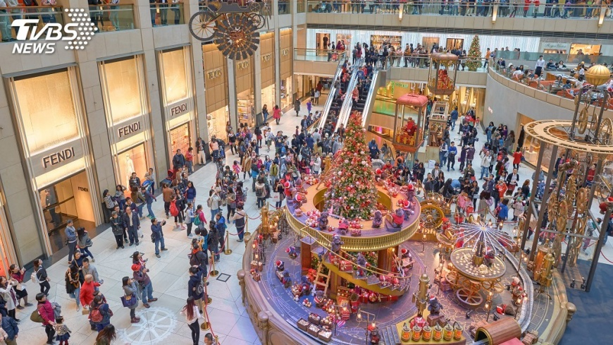 示意圖/TVBS 港耶誕長假開始 估924萬人次出入境