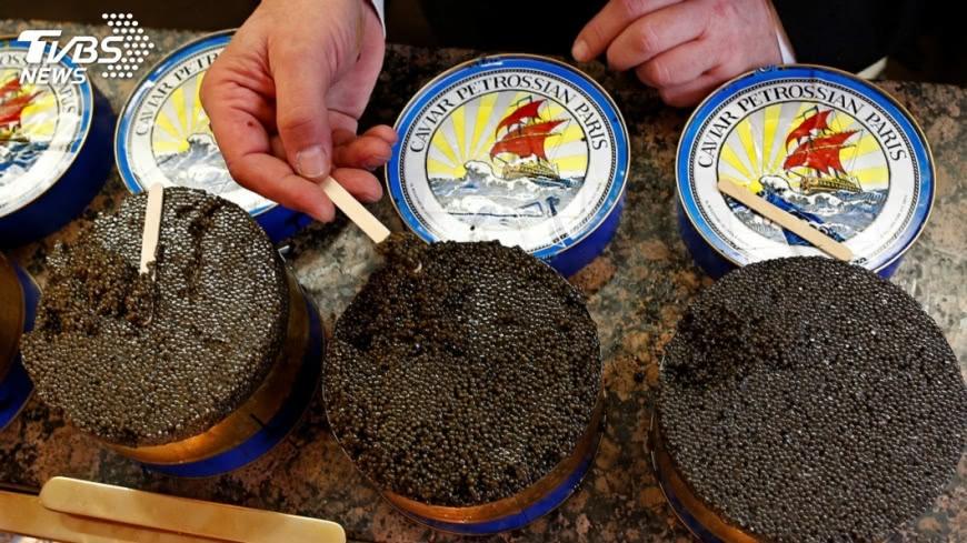 圖/達志影像路透社 魚子醬貼俄國標籤 俄媒:大陸製造黑心貨