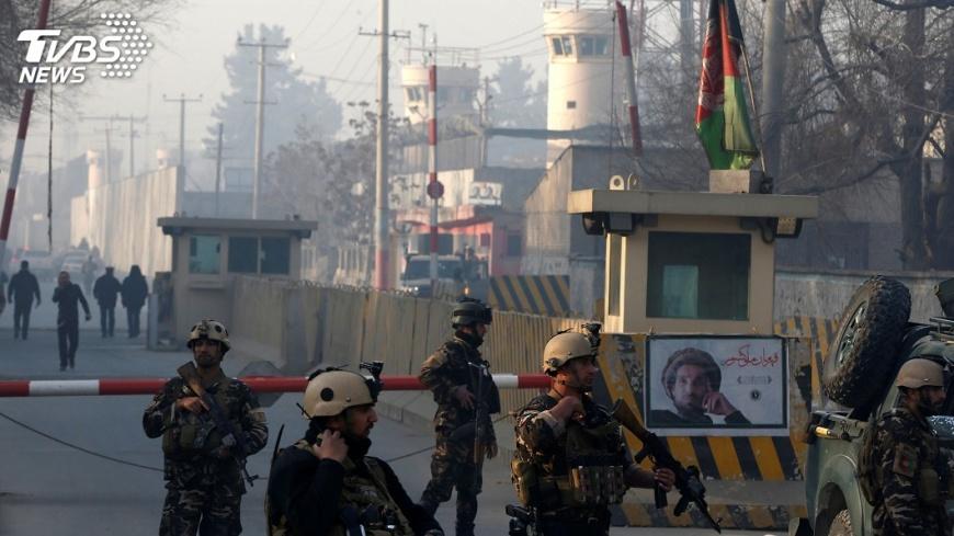 圖/達志影像路透社 阿富汗自殺炸彈客攻擊6死 IS宣稱犯案