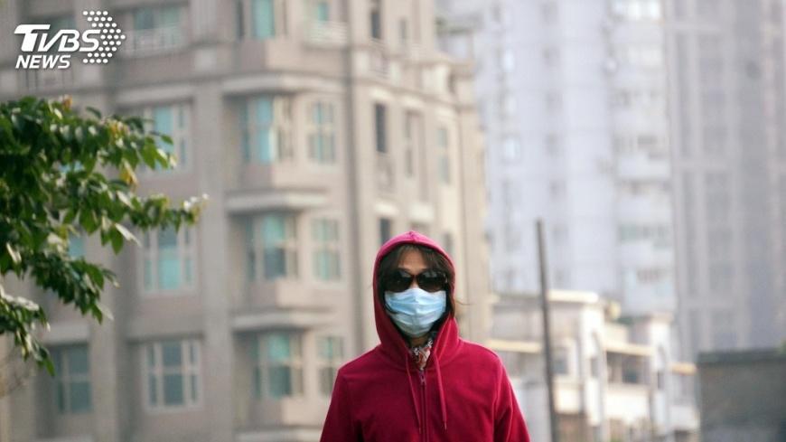圖/中央社 PM2.5南北差遭指創新高 環署:有改善