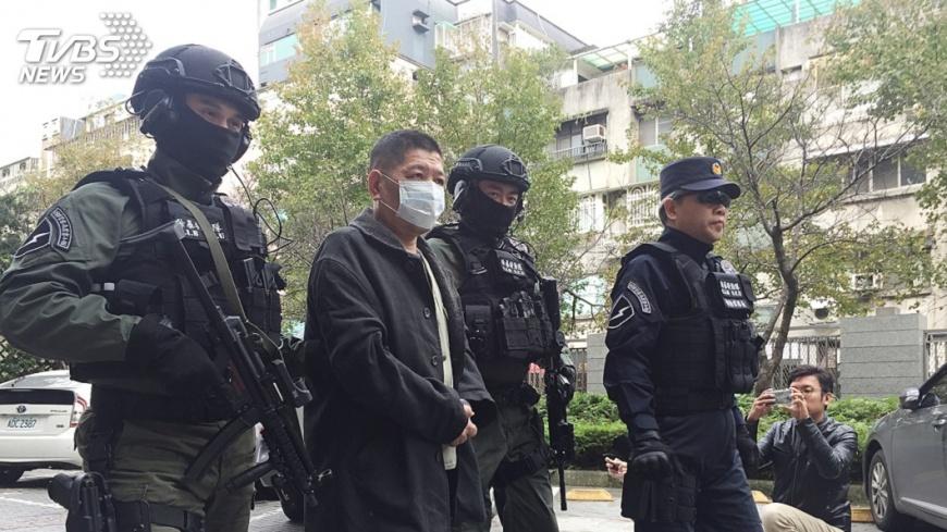 圖/中央社 除暴特勤隊首役傳捷報 逮擁槍通緝犯