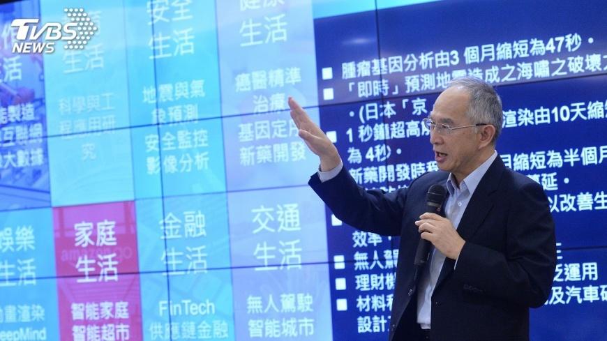 圖/中央社 鴻海超級電腦 成醫療運動分析利器