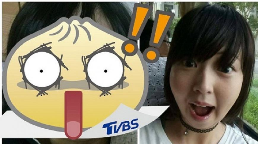 一名女網友分享照片,提到自己一覺醒來臉腫得跟豬頭沒兩樣。(圖/女網友授權提供) 驚!大眼萌妹一覺醒來腫成豬頭 原因竟是它害的