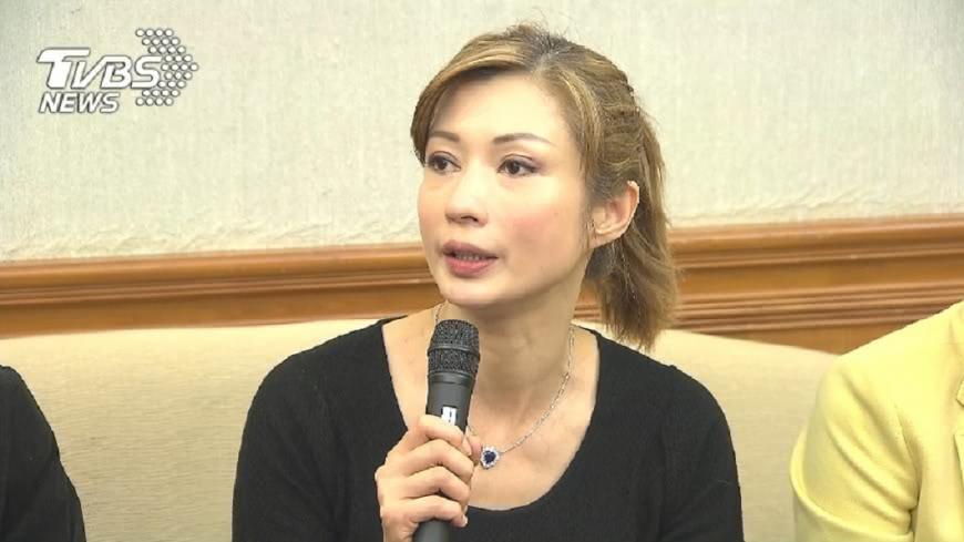 圖/TVBS 溫翠蘋爆2度離婚 付180萬休洋夫換自由身