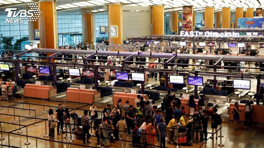 圖/達志影像路透社 新加坡寧靜機場計畫 不再呼叫旅客登機