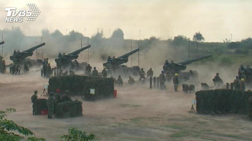 圖/TVBS 解放軍擾台 陸軍喊話「企圖侵犯必遭頑強抵抗」