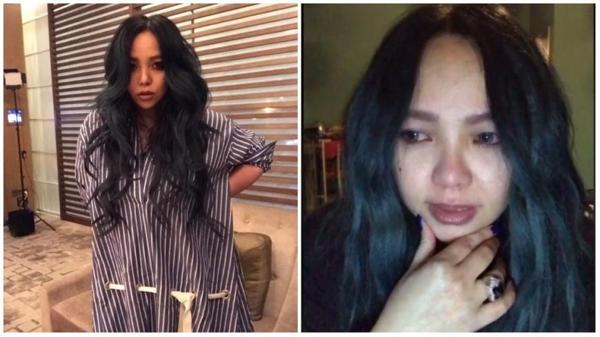 圖/取自張惠妹臉書、TVBS 演唱會前二姊病逝 阿妹淚灑直播「我很想妳」