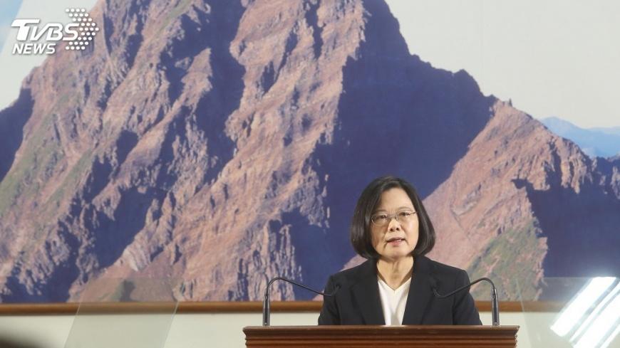 圖/中央社 盤點防衛能量 蔡總統:正討論下階段軍購