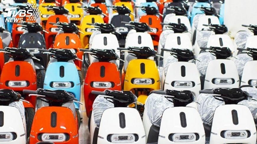 圖/中央社 Gogoro累計銷量達5萬台 今年走入通路元年