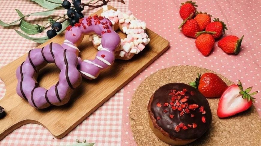 Mister Donut提供 草莓季開跑!甜甜圈、啤酒滿滿「粉紅泡泡」