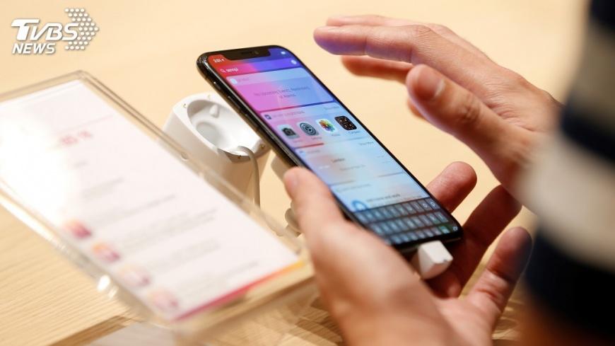 圖/達志影像路透社 iPhone X賣不動 鴻海目標價下探95元