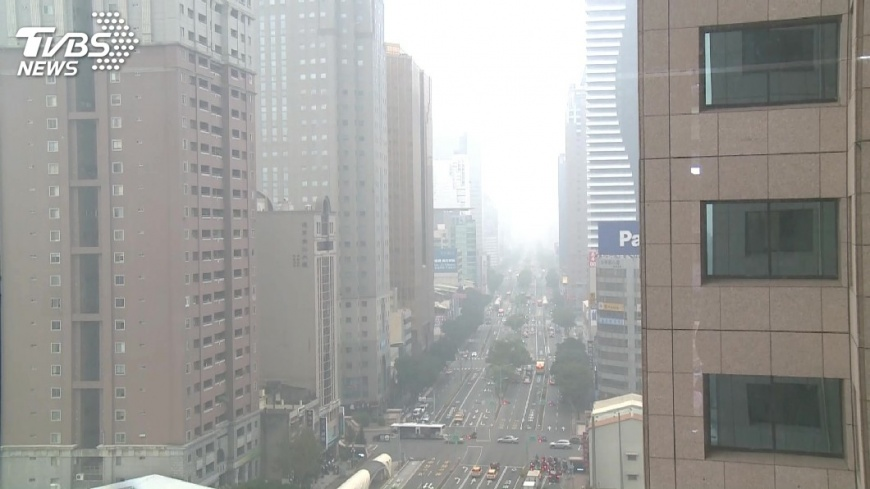 圖/TVBS 環團要求空品 中市府:朝減煤目標前進