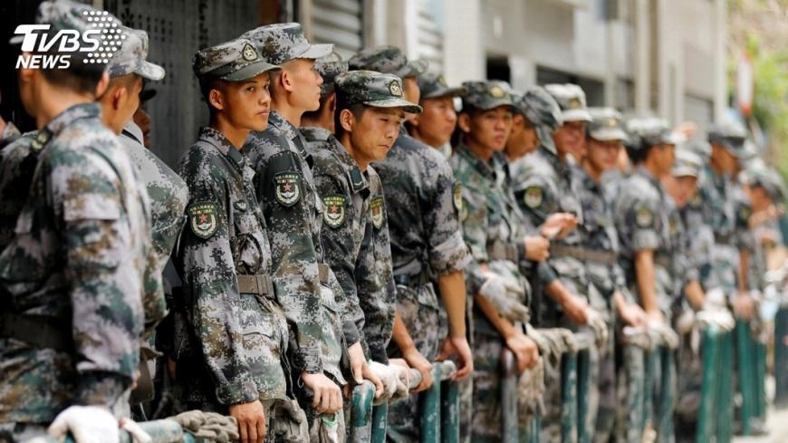 圖/達志影像路透社 解放軍部分戰區傳人事調動