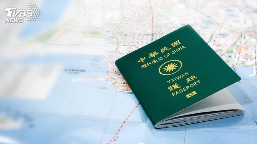 示意圖/TVBS 新版護照更新內頁 24日將公布新圖樣