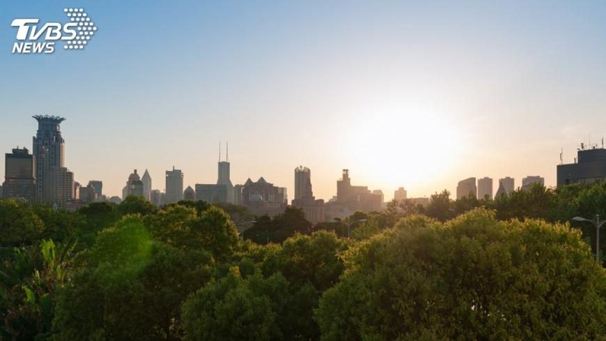 示意圖/TVBS 上海城市規劃  推綠色低碳發展