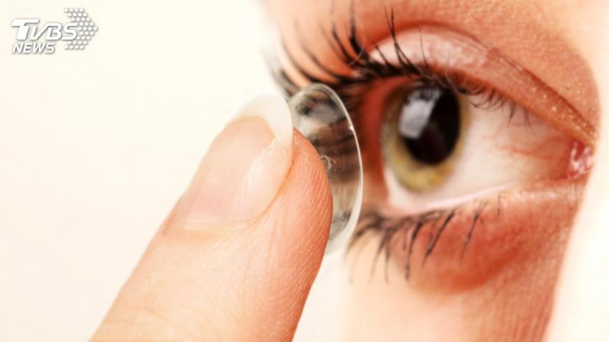 示意圖/TVBS 隱形眼鏡趕流行 年產值強攻200億元