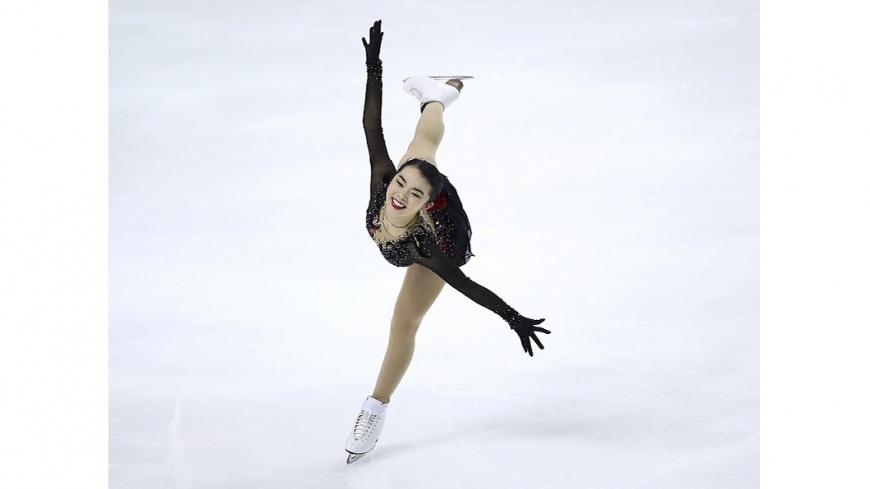 圖/達志影像美聯社 台裔美籍陳楷雯 入選冬奧美國滑冰國家隊