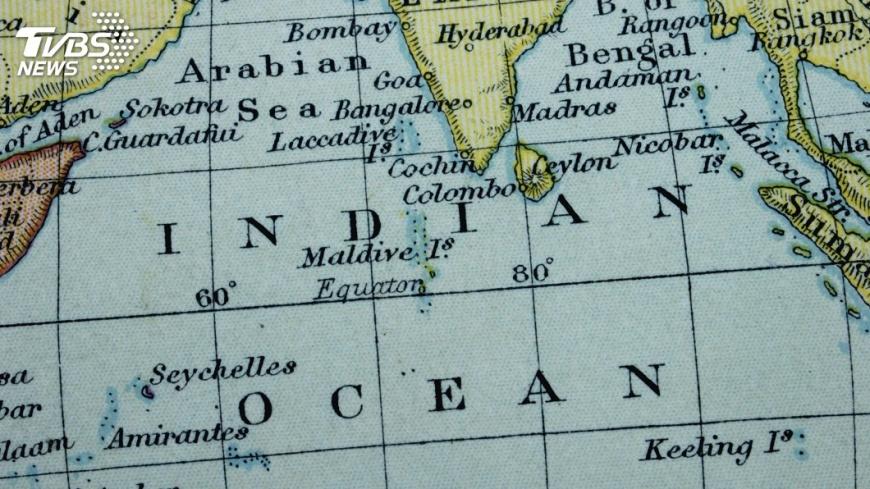示意圖/TVBS 戰略地位加科研價值 印度洋引關注