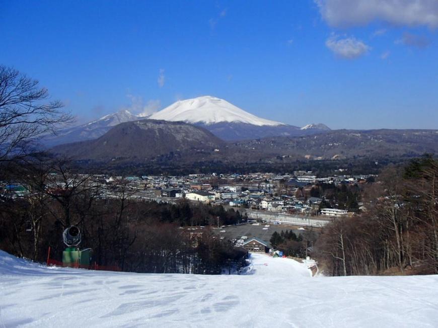 圖片來源:WAmazingSnow 輕井澤王子大飯店滑雪場