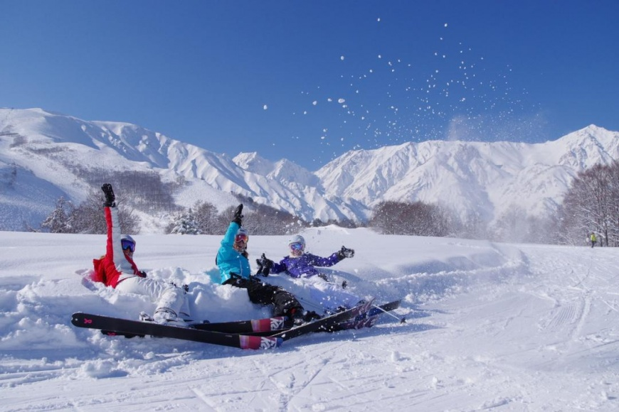 圖片來源/WAmazingSnow白馬八方尾根滑雪場