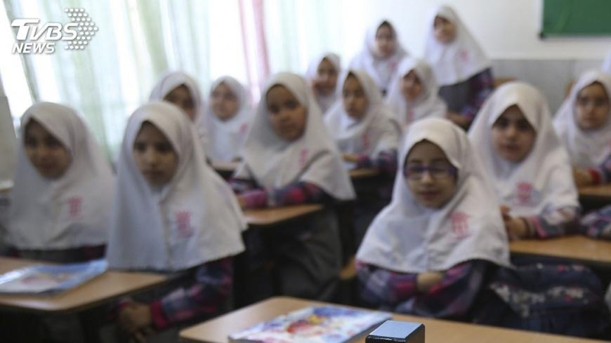 圖/達志影像美聯社 阻止西方文化入侵 伊朗禁小學教英文