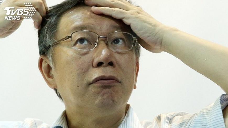 圖/中央社 陳景峻指柯文哲尊重媒體 未封殺記者