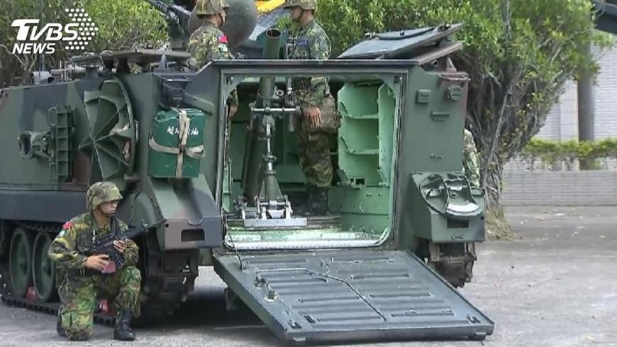 圖/TVBS 陸啟用M503 軍方壓力增但不隨之起舞
