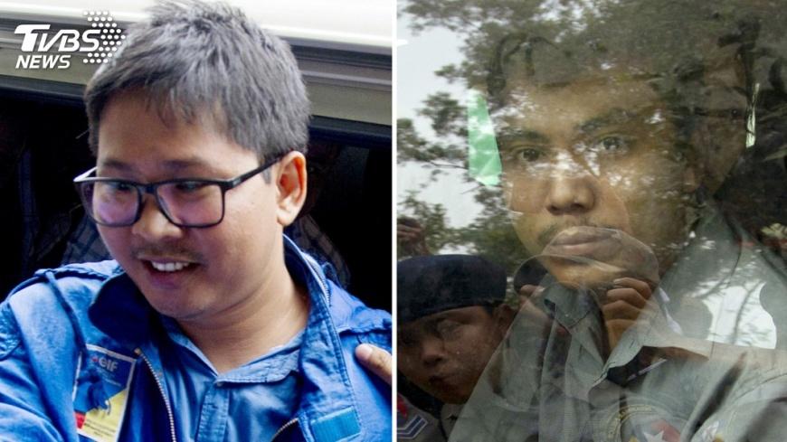 圖/達志影像美聯社 路透記者涉違反機密法 緬甸檢方將起訴