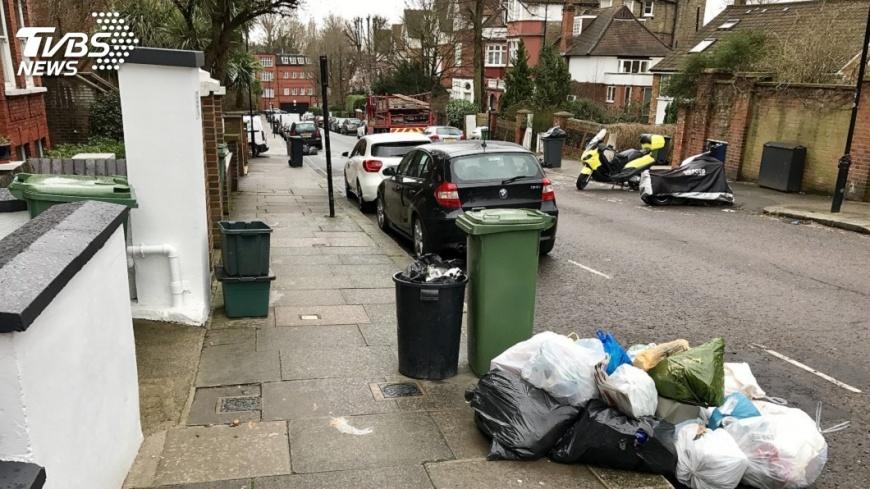 示意圖/TVBS 英國擬25年內  根除所有不必要塑膠垃圾