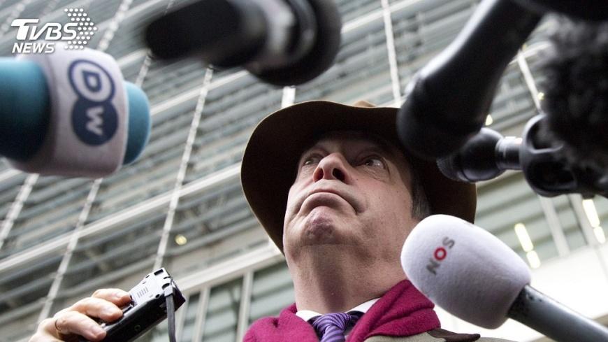 圖/達志影像美聯社 英脫歐健將提議 再辦公投讓親歐派閉嘴