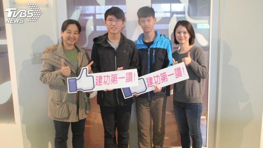 圖/中央社 建功高中生愛科學  特殊選才進第一志願