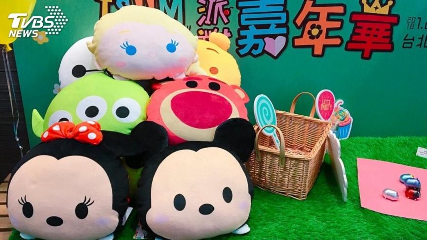 圖/TVBS TSUM TSUM派對寒假登場!超萌週邊場景搶先看