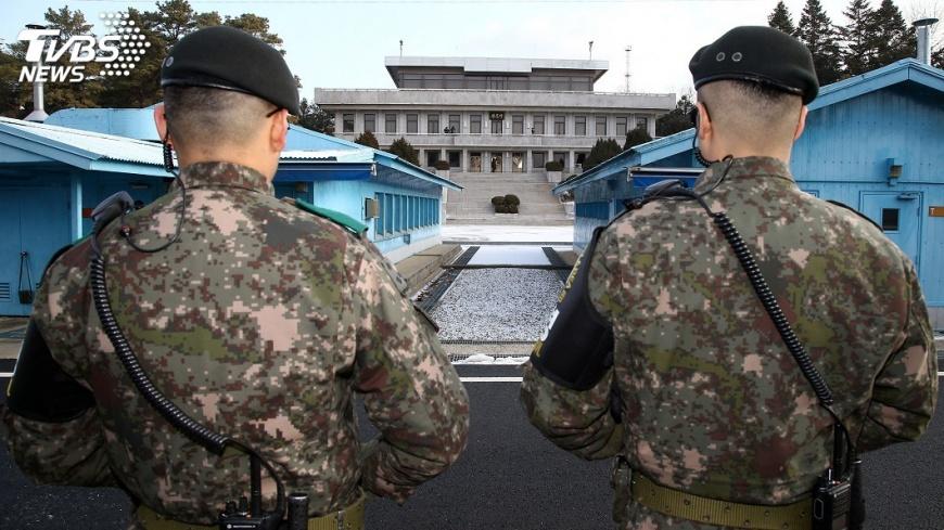 圖/達志影像路透社 南北韓磋商 北韓藝術團參加平昌冬奧事宜