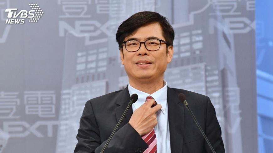 圖/中央社 綠縣市長初選在即 陳其邁、翁章梁籲選後團結