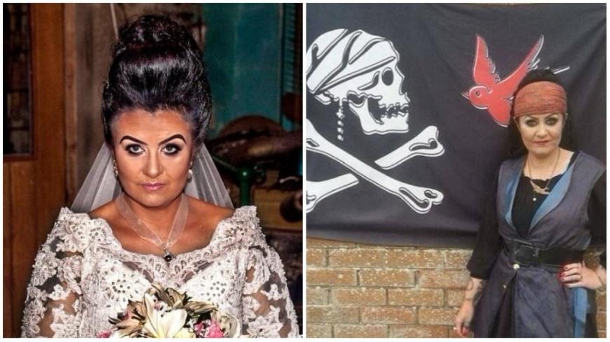 圖/翻攝自《每日郵報》 對的「人」難找…她嫁給18世紀海盜鬼魂