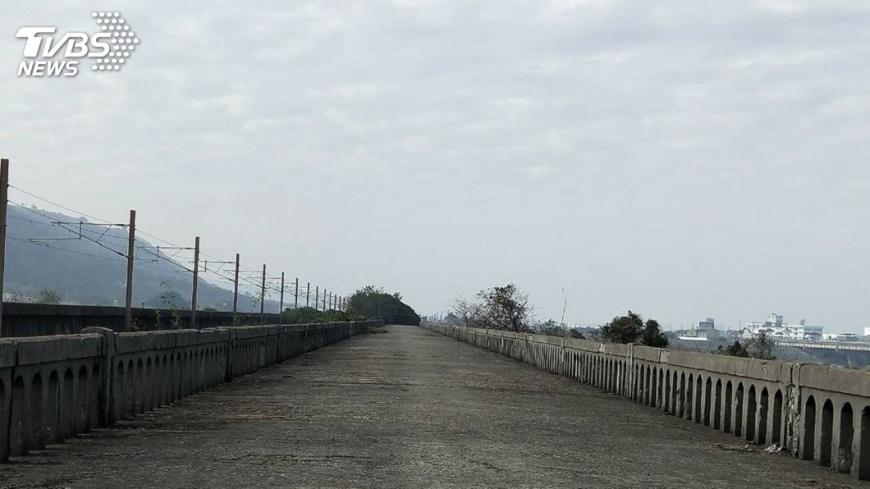 圖/中央社 舊大安溪橋動工修復 串聯周邊觀光景點