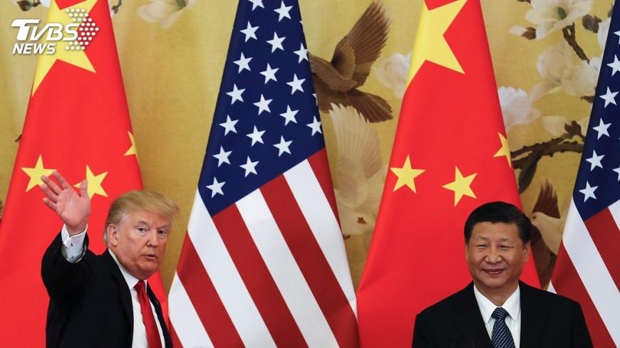 圖/達志影像美聯社 川普與習近平談美中貿易 直言失望