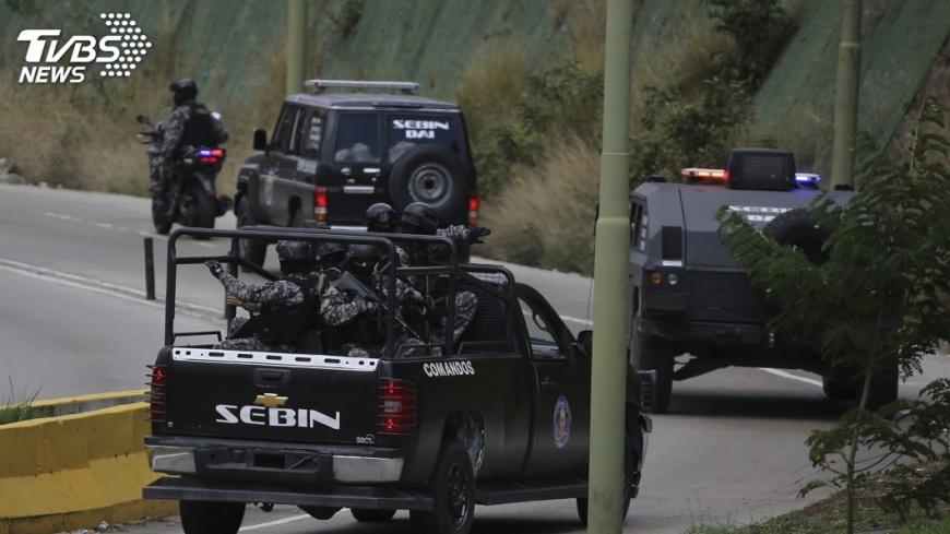 圖/達志影像美聯社 委內瑞拉反政府英雄 證實遭警圍捕擊斃