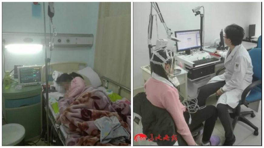 一名13歲少女初經連來16天還沒停止,送到醫院緊急治療。(圖/翻攝自遼瀋晚報) 「初經」連來16天還在流 13歲少女險喪命